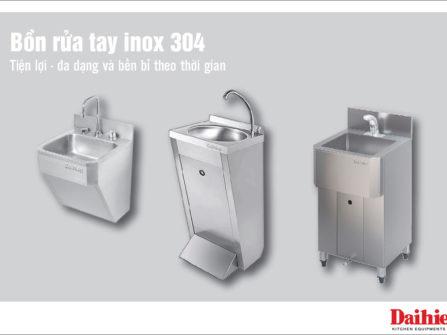 Bồn rửa tay Inox 304